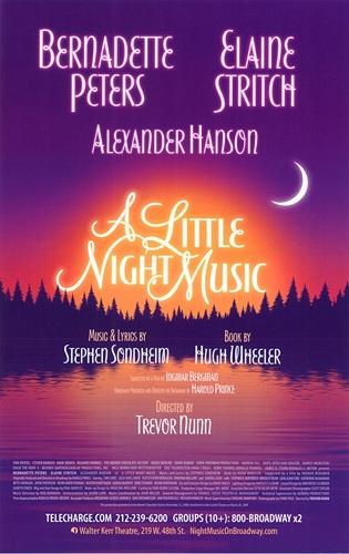 A Little Night Music  Bernadette Peters and Elaine Stritch