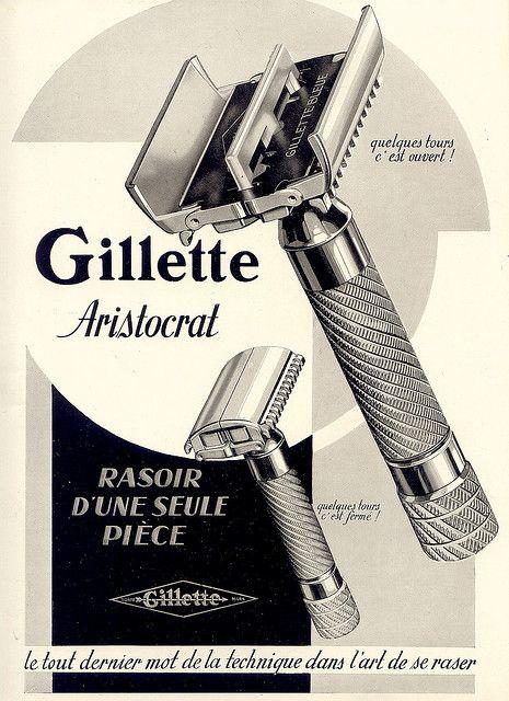 gillette >> amazing razor illustration!