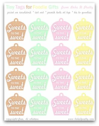 sweet tag small