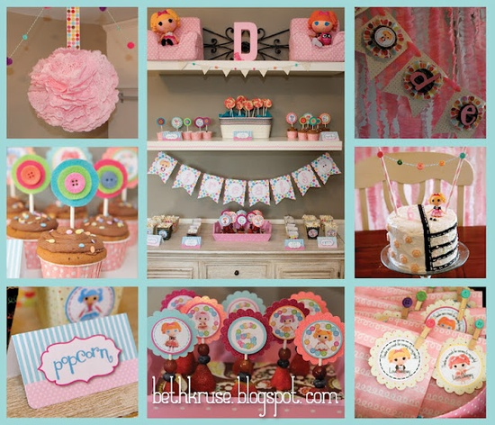 Lalaloopsy Doll + Sewing Birthday Party