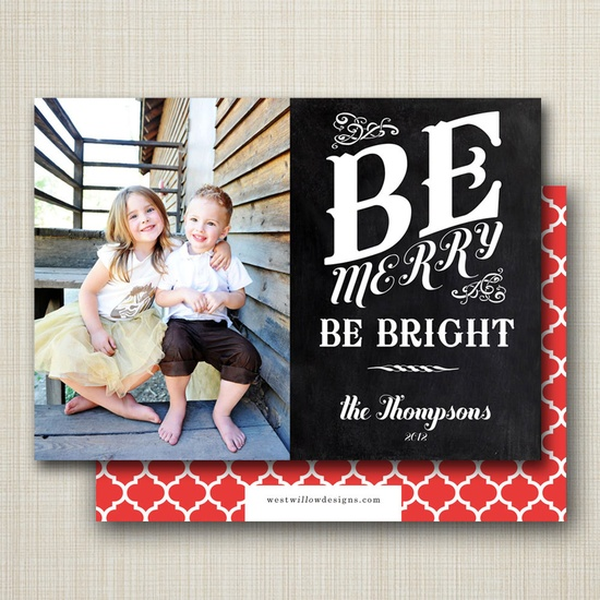 photo christmas card - chalkboard christmas.. $16.00, via Etsy. so cute...