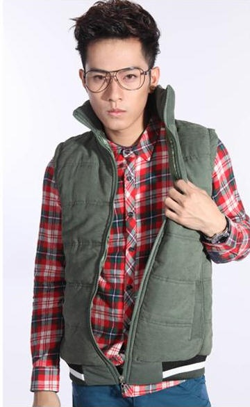 Korean Fashion Men's Cotton Vest - BuyTrends.com