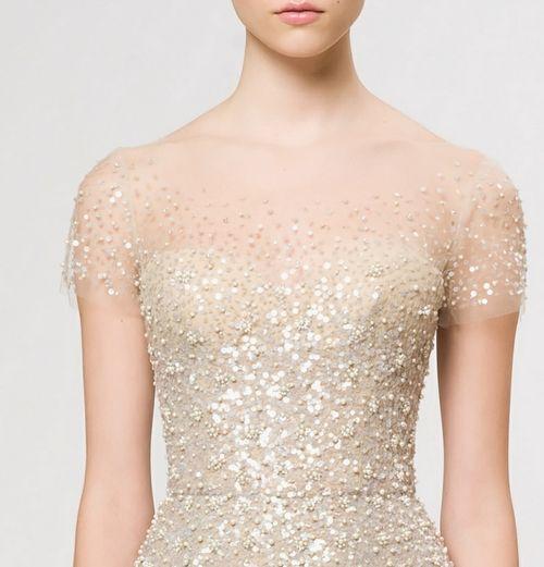 Sparkly, romantic dress