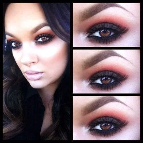 Eye makeup shadow idea