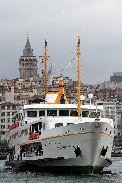 Istanbul Ferry Service , Turkey