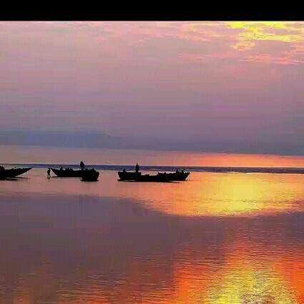 Beautiful beach,Bangladesh.