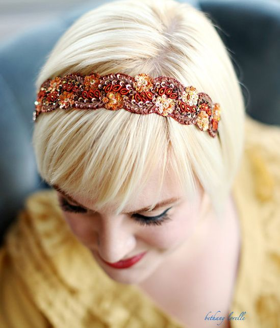 Pretty headband.