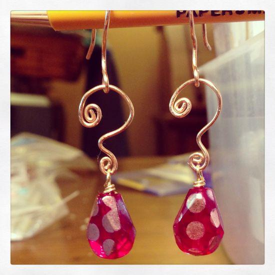 Handmade earrings email: mailto:royallexig...