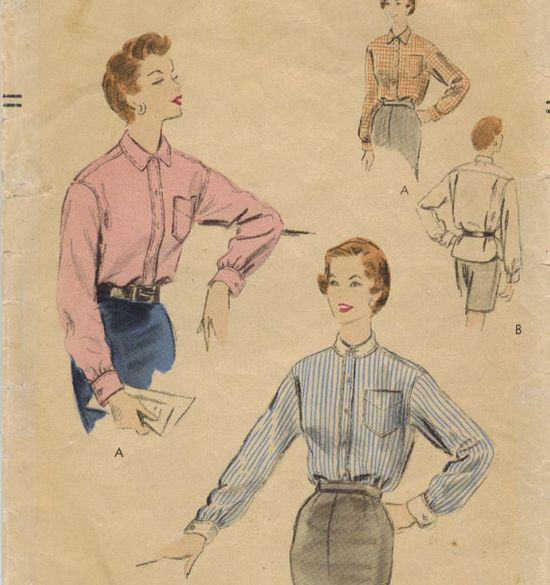 1950s Vogue 8267 Vintage Sewing Pattern Misses by midvalecottage, $12.00