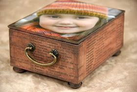 Kay's Keepsakes: Personalized Handmade Music Box: DIY tutorial provided