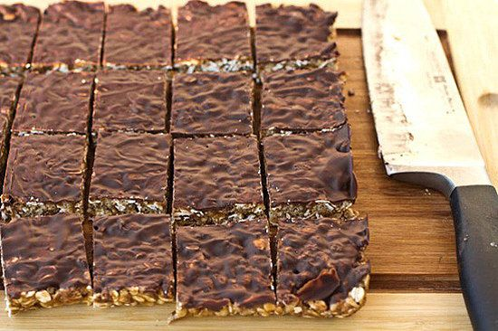 Protein Powder bars! These are fab for an on the go snack, breakfast or travel! yumm! (ps, I've made them and I love em) #vegan #food #ohsheglows #pinit #granola #Bars #protein #health #healthyliving