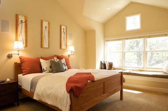 Contemporary Bedroom Ideas with Wall Art Works Decoration Great Bedroom Design with Art Works Decoration
