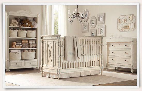 Shabby room for baby K