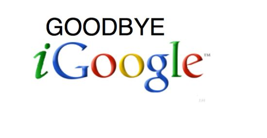 iGoogle shutdown is official, Phones Review alternatives