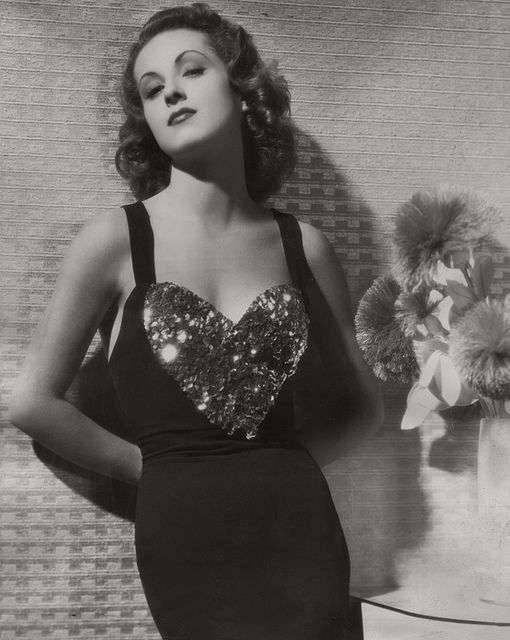 Danielle Darrieux, 1938 // i want this for a valentine's day outfit