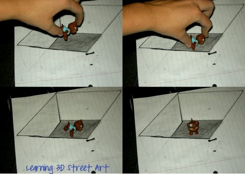 Learn how to make 3D street art!