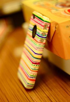 Tribal print iPhone case DIY