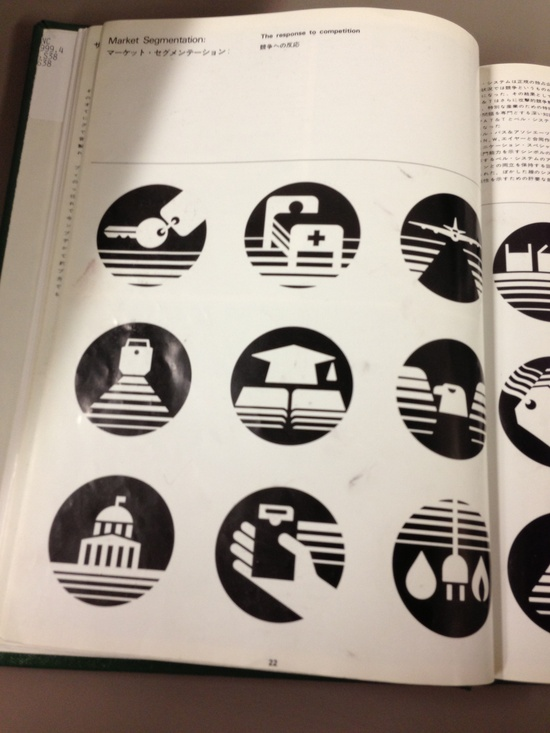 Saul Bass icons.