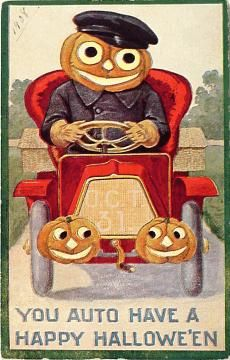 Vintage Halloween Postcards at www.tias.com