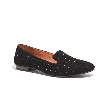 Studded loafers are a must?
