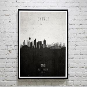 Print Sydney Cityscape, 29,90€, jetzt auf Fab.