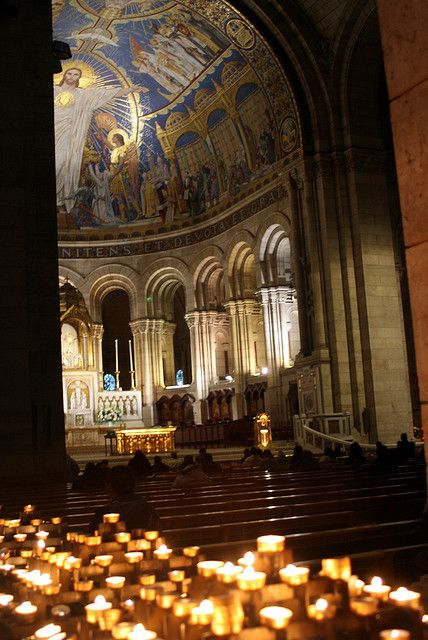 Sacre Coeur.  A beautiful sight.
