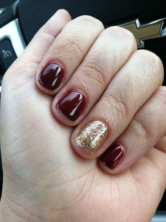 Fall nail look