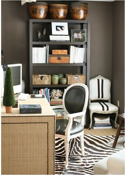 cozy yet chic office
