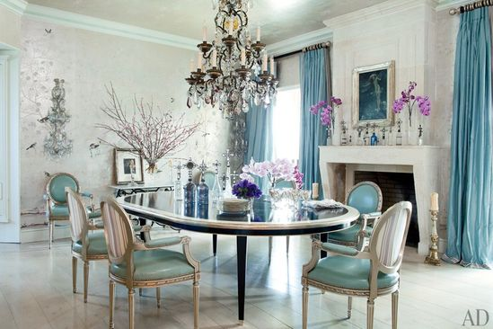 30 Amazing Celebrity Dining Rooms