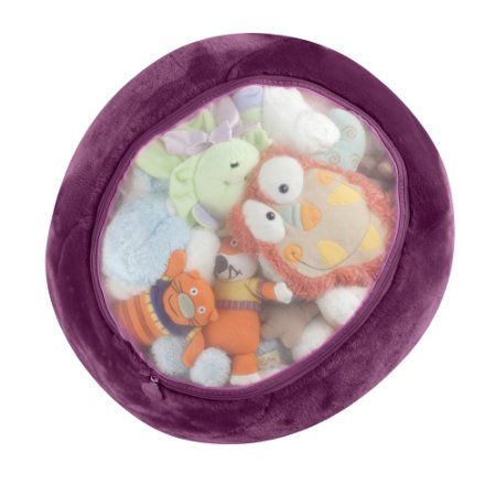 Amazon.com: Boon Animal Bag Stuffed Animal Storage,Purple: Baby