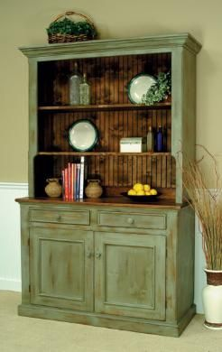 Country Classics Painted Furniture, Lancaster Hutch
