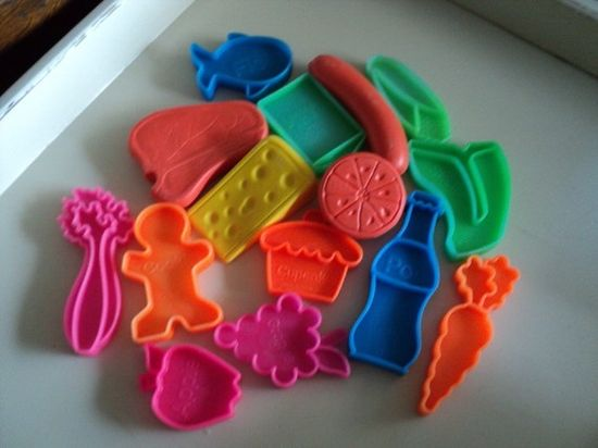 Mattel Toy Food - I had these that came with my toy shopping cart