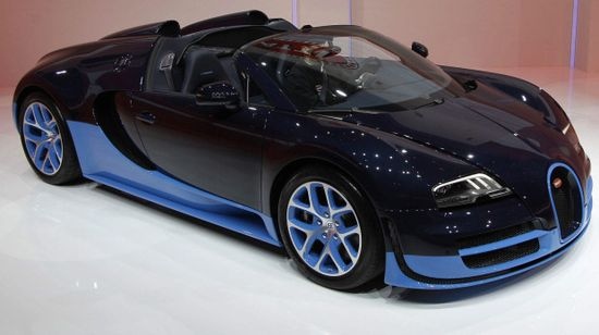 The new Bugatti Veyron Grand Sport Vitesse via theglobeandmail #Bugatti