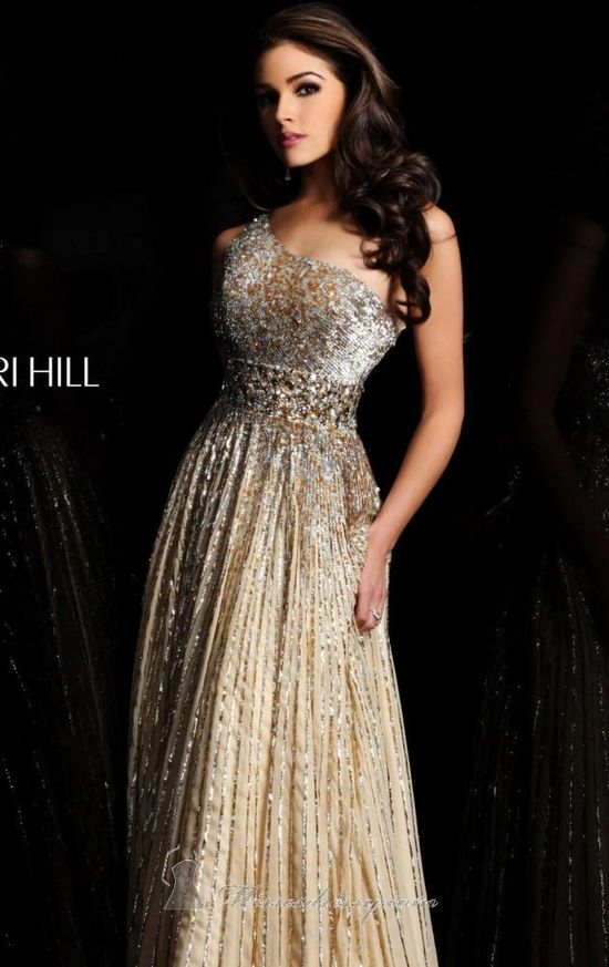 48 Sherri Hill Prom Dresses 2013 - I would use this as a bridesmaid formal wedding dress!