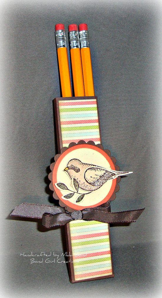 Birdie Pencil Box