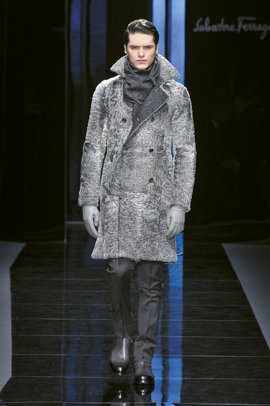 Look 33 Salvatore Ferragamo Men's AW Collection 2012-2013