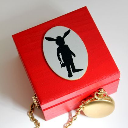 Once Upon a Time in Wonderland-Inspired Watch Box