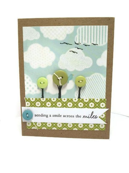 Handmade Greeting Card Earth Day All Occasion by Loustudio on Etsy, $4.50