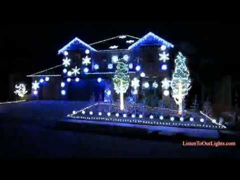 Gangnam Style - Maison lumineuse (Noël)