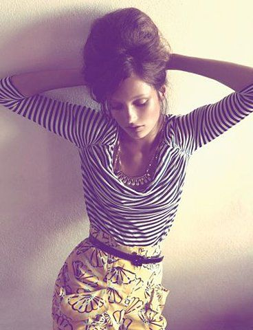 stripes and print