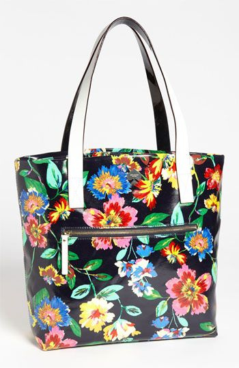 Floral obsession: kate spade new york flicker shopper tote