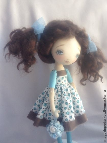 handmade doll Lina.  Handmade.