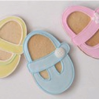 Cute #Baby #Shower Decorated #Cookies via #TheCookieCutterCompany