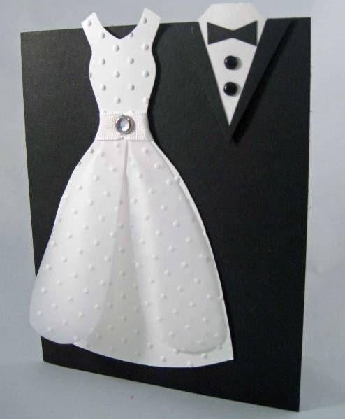 Adorable wedding card!