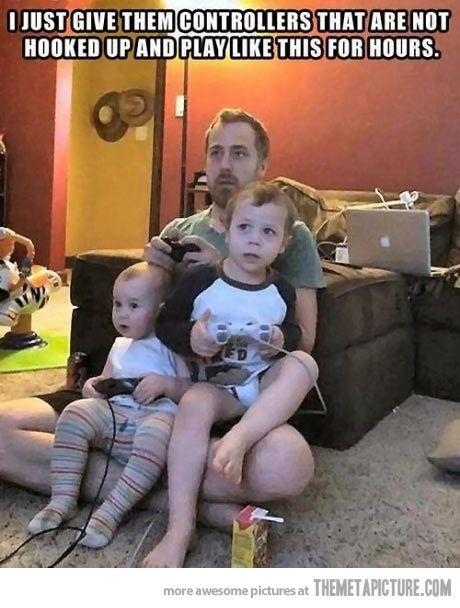 Gaming parenting 101