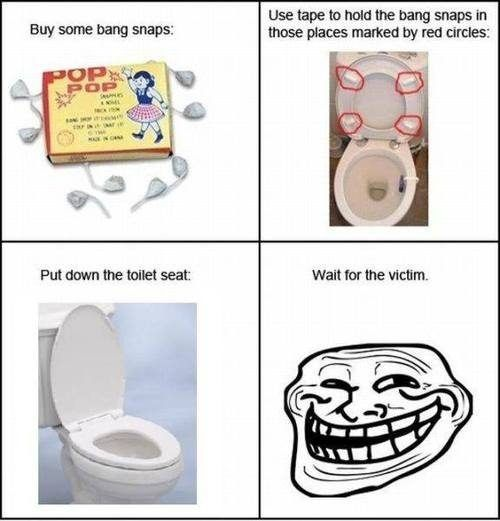 Trolling on your loved ones... Haha I can't wait to try this maybe...