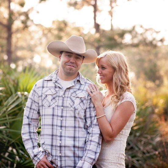 Country engagement photo shoot