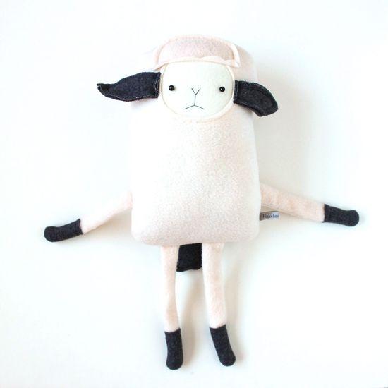 Handmade Plushy Lamb Friend