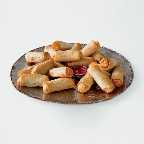 Goat Cheese & Chorizo Rolls