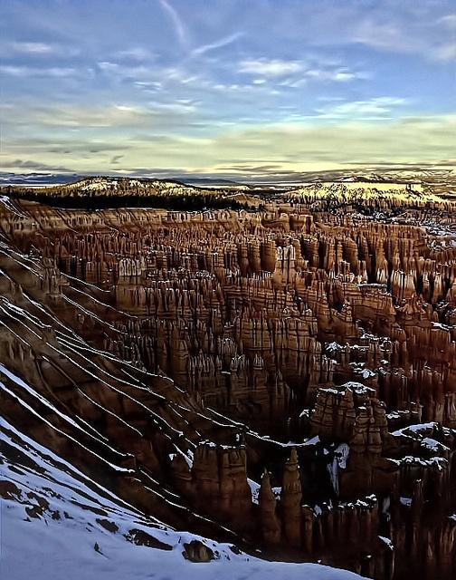 Inspiration Point at Bryce Canyon National Park, Utah